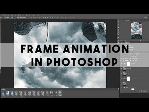 How To Create Frame Animation Gif Or Video In Photoshop