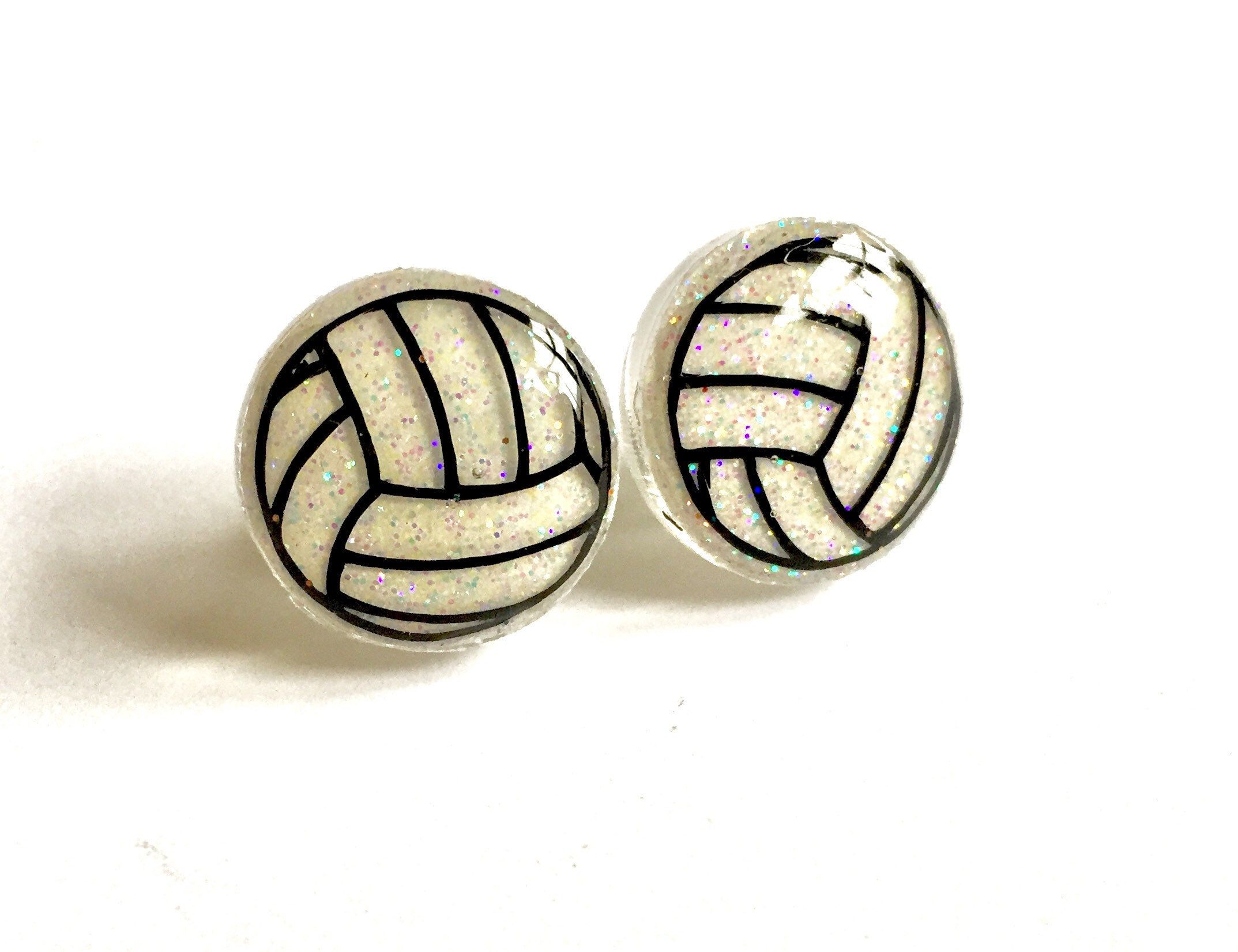Volleyball Earrings Volleyball Gifts Volleyball Stud Earrings Volleyball Gift For Team Volleyball Gift For Girls Vo Gifts For Girls Stud Earrings Earrings