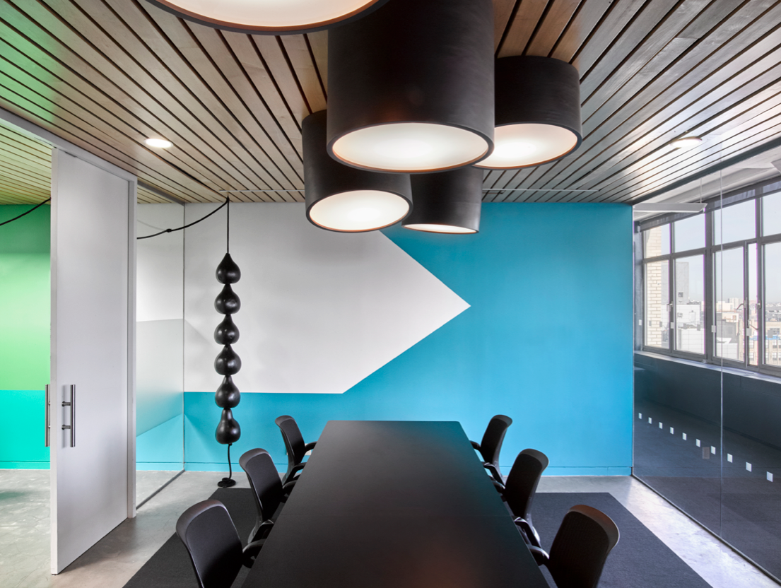 office interior design magazine. The Office Of Marketing Agency Barrows Brings African Jungle To Concrete Jungle. Custom Fixtures Cluster On Conference Room\u0027s Ceiling. Interior Design Magazine T