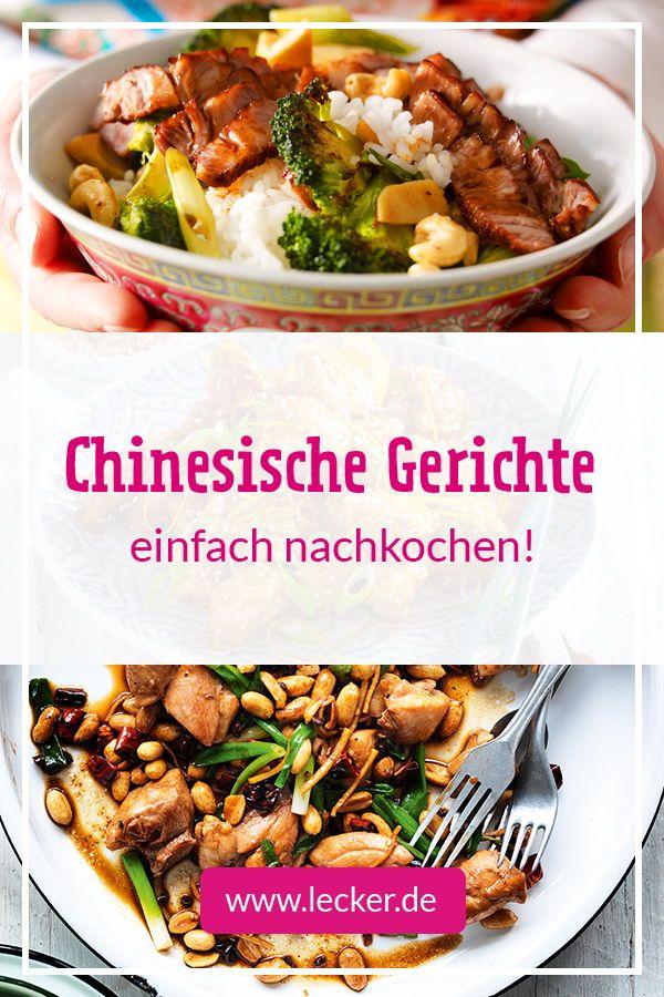 Chinesische Gerichte - fernköstlich speisen | LECKER #chickentacorecipes