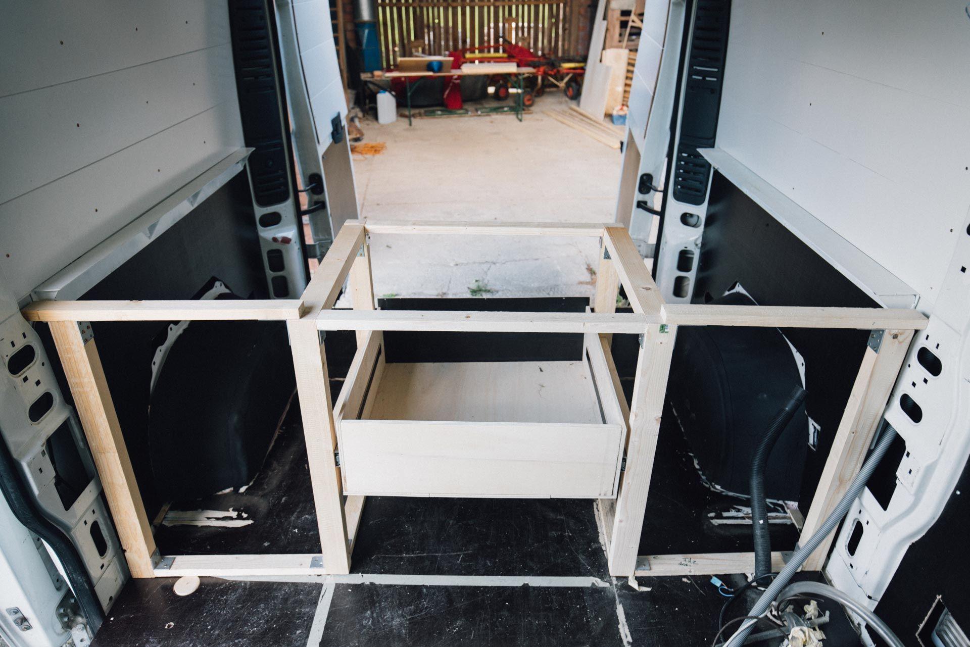 Bauanleitung Bett Im Wohnmobil O Kastenwagen Mein Camperausbau In 2020 Kastenwagen Wohnmobil Wohnmobil Ausbauen