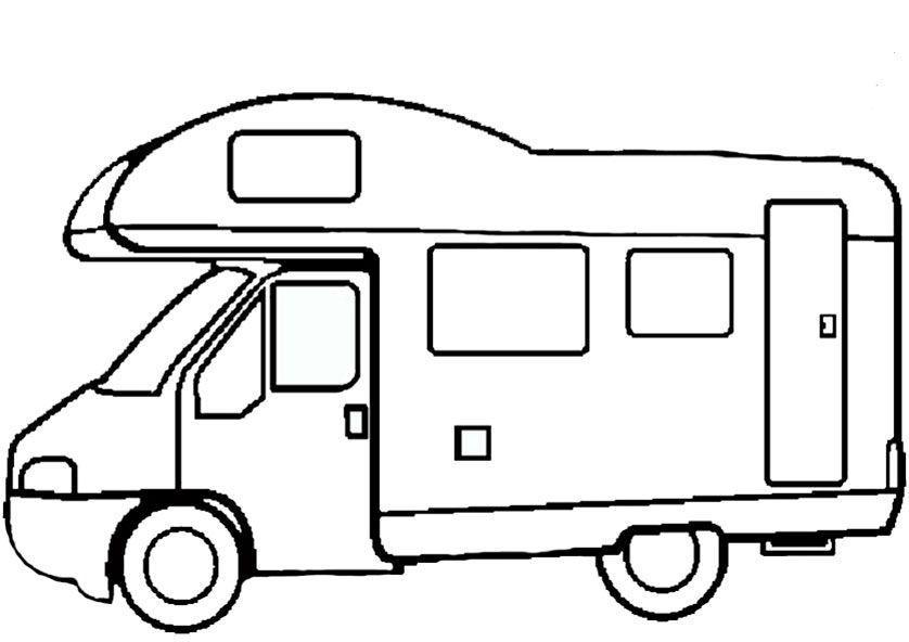 Wohnmobil Zum Ausdrucken Und Ausmalen Steinebemalenvorlagen Wohnmobil Zum Ausdr Autos Malen Ausmalen Ausmalbilder