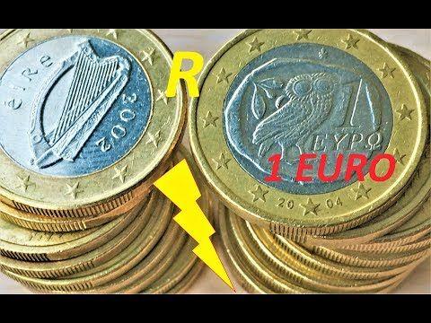 1 Euro 19 сoins Video Raritet Rari Rareza Raro Infrecuente Selten