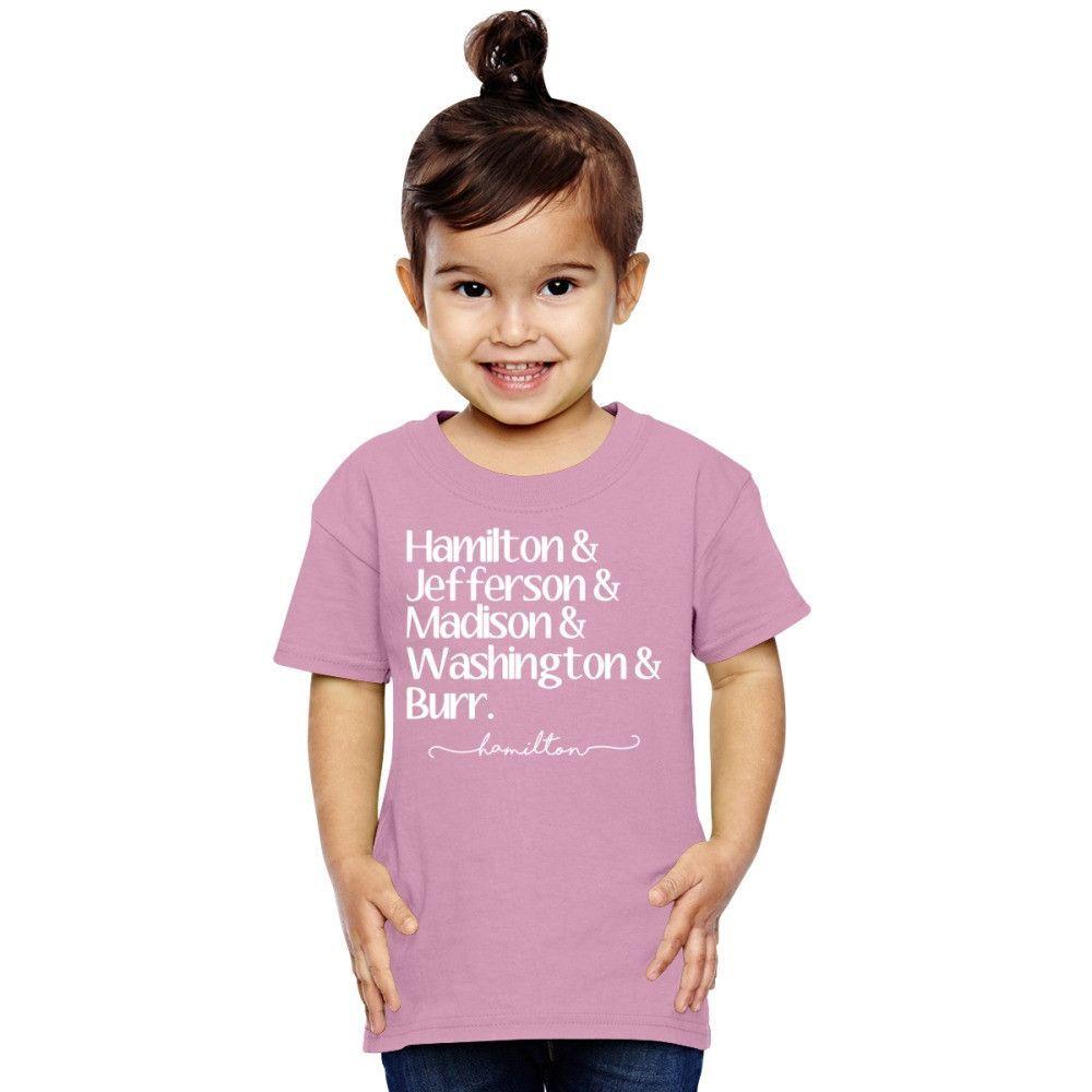 Hamilton Revolutionaries Toddler T-shirt