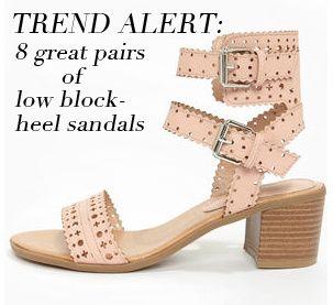 64e89d6db161 Trend Alert  Low Block-Heel Sandals