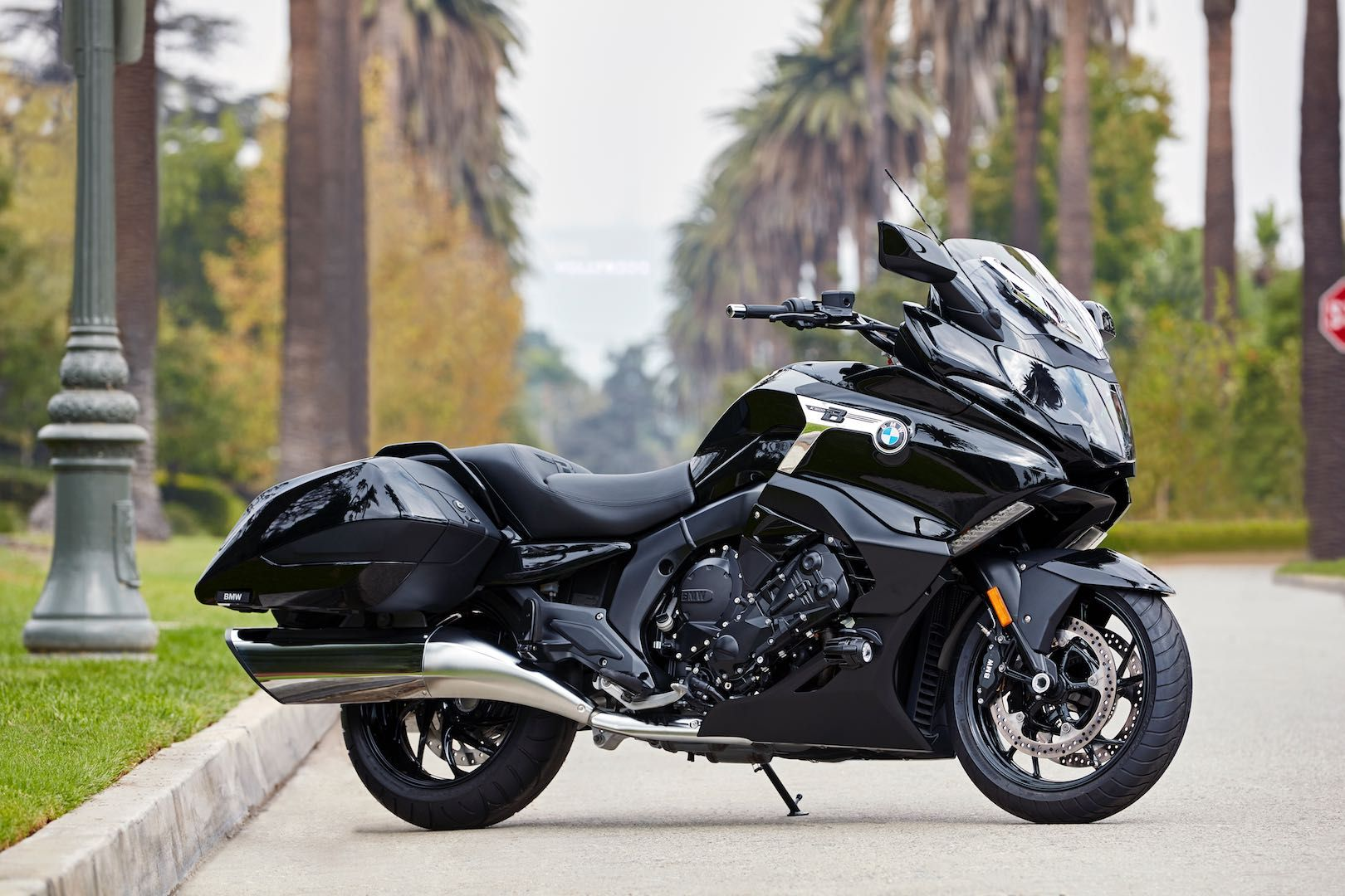 2018 Bmw K 1600 B Bagger Price Announced For Usa Bmw Vintage Bmw Motorcycle Touring Bmw Motorcycles