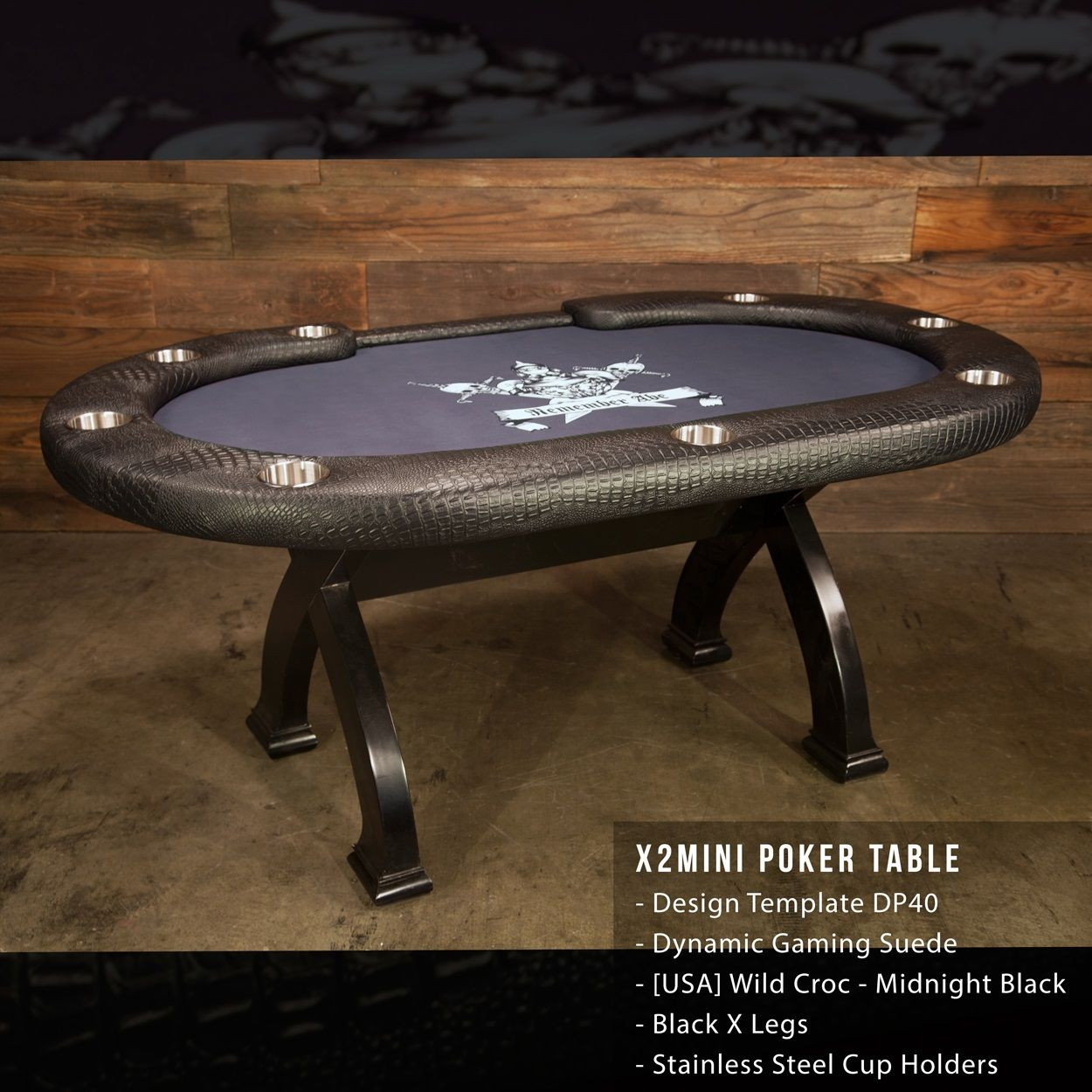 This X2 Mini Game Table also makes the perfect dining