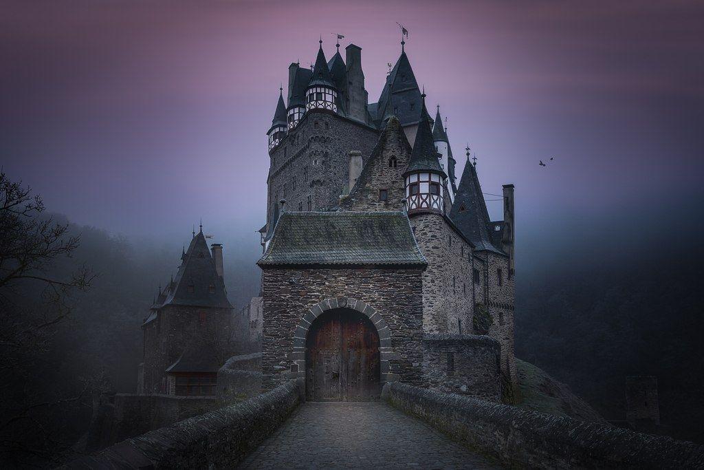 Замок Эльц, Германия в 2020 г   Таинственные места ...