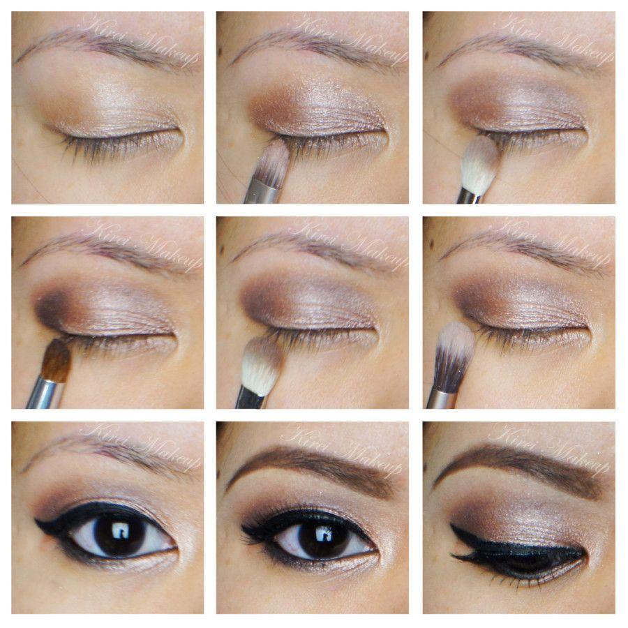 Soft Smokey Eyes Hooded Asian Eyes Kirei Makeup Asian Eye