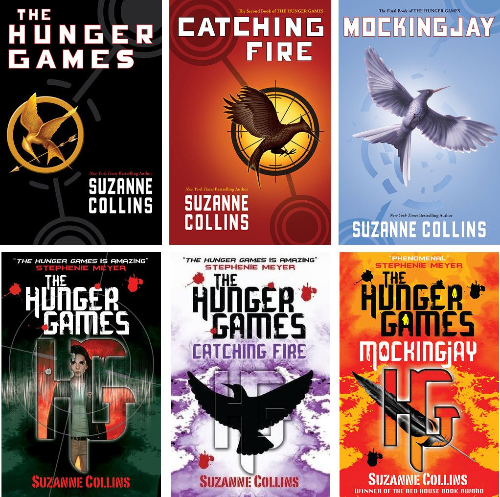 The Hunger Games Trilogy By Suzanne Collins Book Cover Art