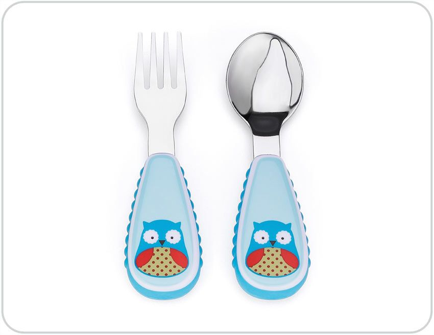 Owl Fork & Spoon Set by Skip Hop