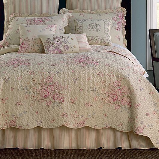 Giselle Coverlet Set & More - jcpenney | Pink and Cream ... : shabby chic quilts and comforters - Adamdwight.com