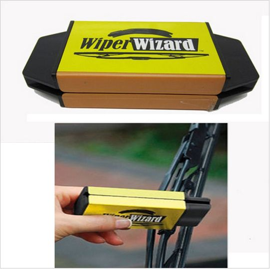New Car Van Wiper Wizard Windshield Wiper Blade Restorer Cleaner with 5 Wizard Wipes Convenient and practical $12.59