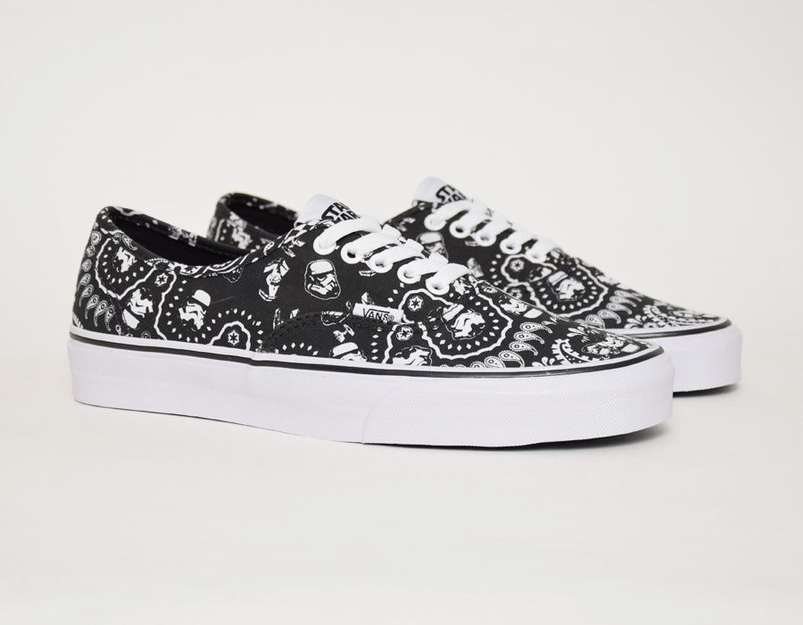 6573ec00dc Vans Authentic Star Wars Stormtrooper Bandana  sneakers