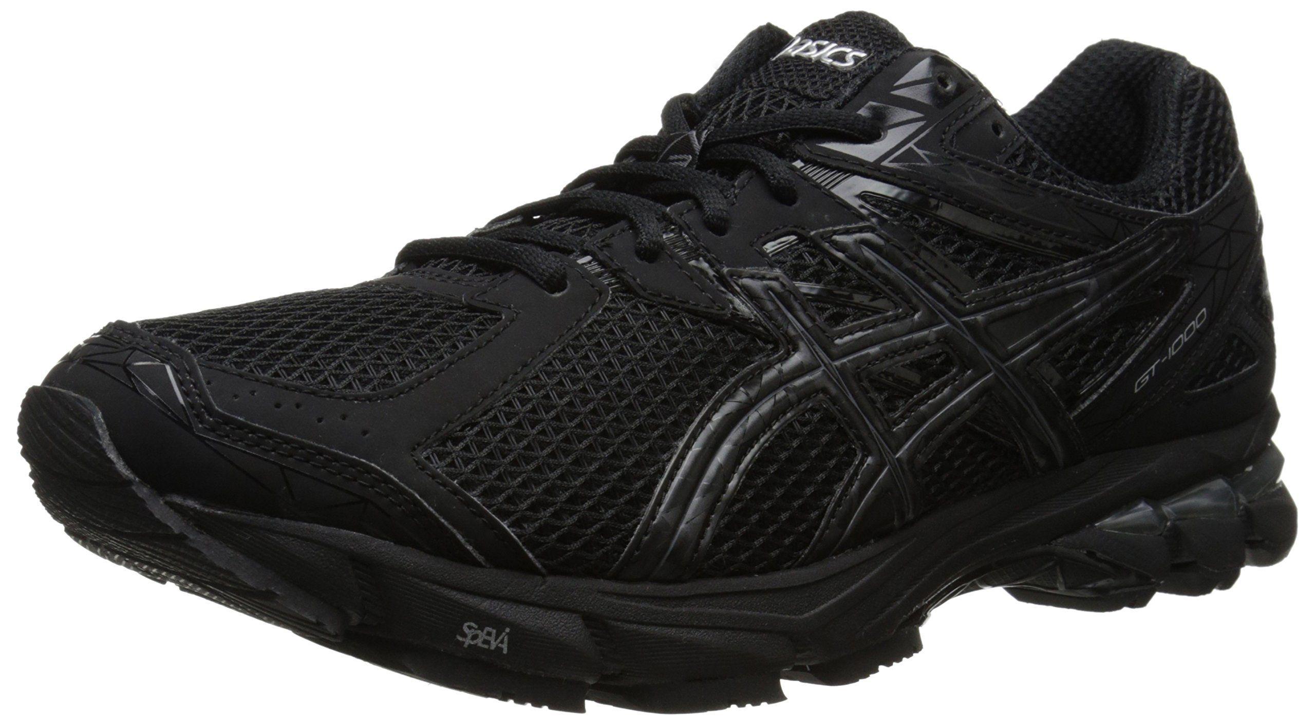 Asics · ASICS Men's Gt-1000 3 Running Shoe,Black/Onyx/Lightning ...