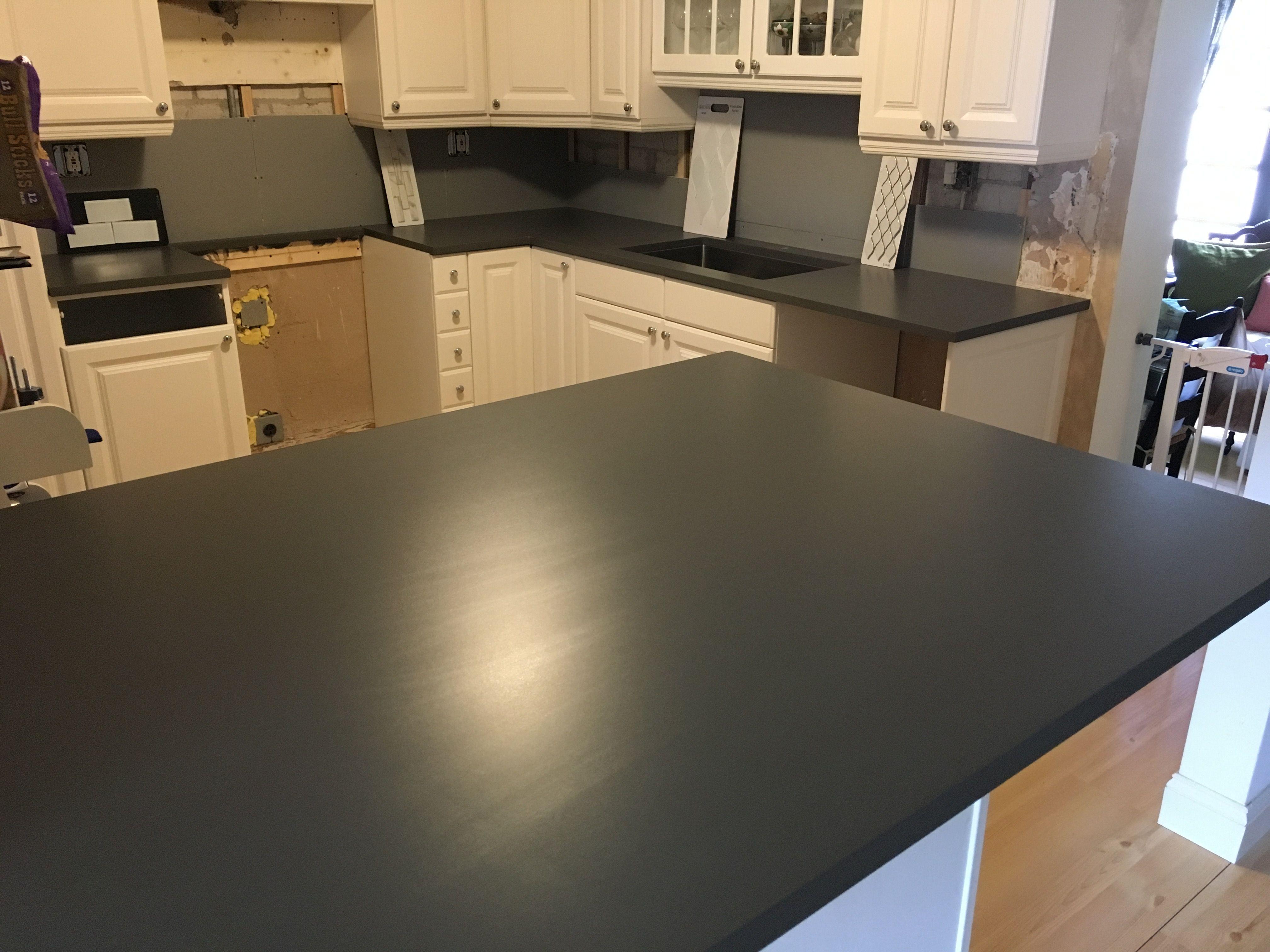 Silestone Quartz Cemento Spa 3cm Suede Finish In This Kitchen We