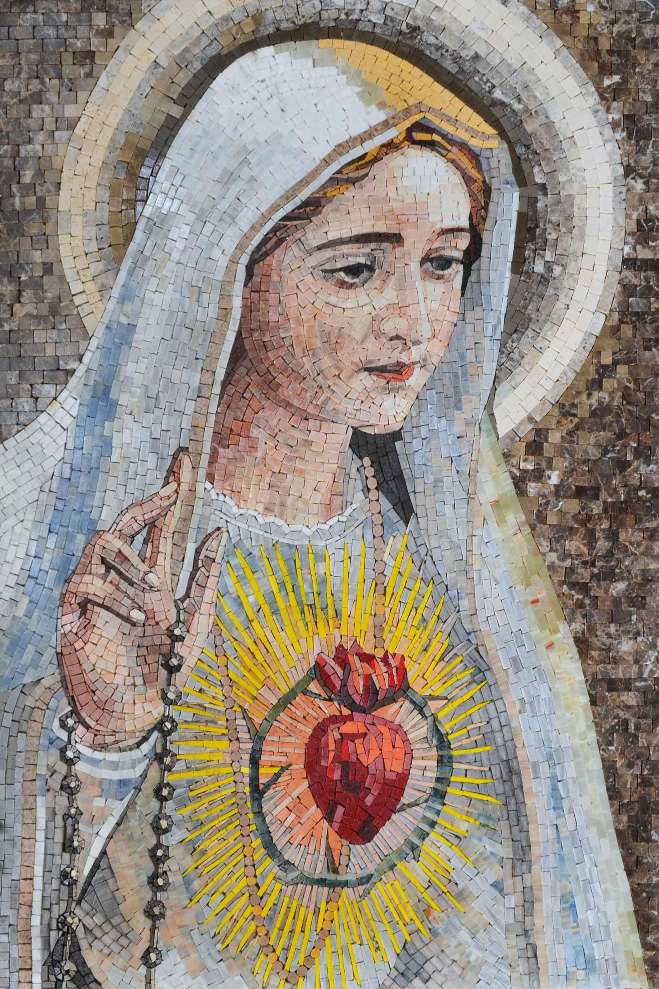 схема иконы santa fecioara