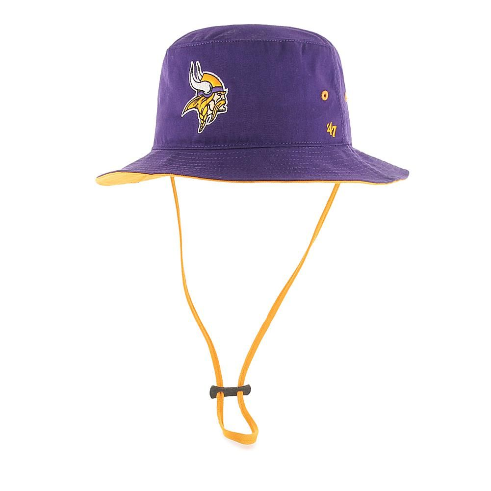 f5b7ae69fd37a Officially Licensed NFL Kirby Bucket Hat by  47 Brand - Vikings ...