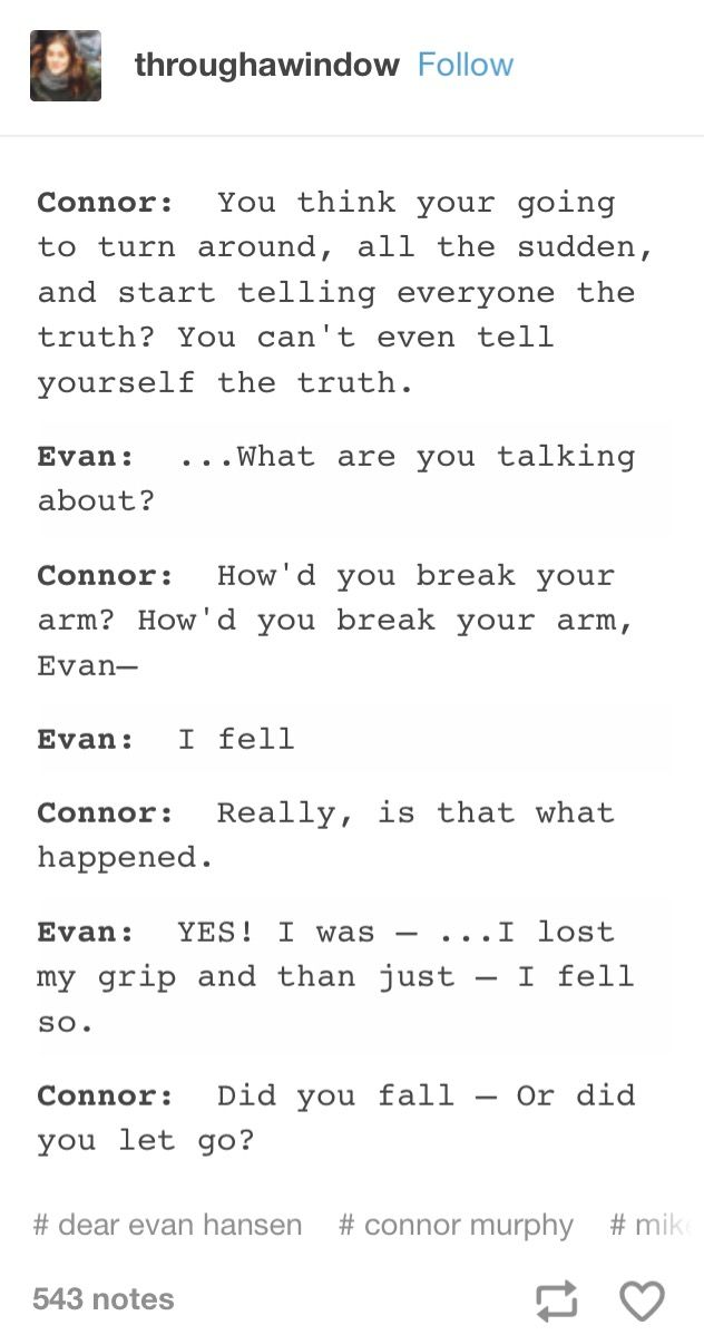 Wow I Don T Know If This Is From The Show Or Fan Written But It Breaks My Heart Either Way Dear Evan Hansen Musical Dear Evan Hansen Dear Even Hansen