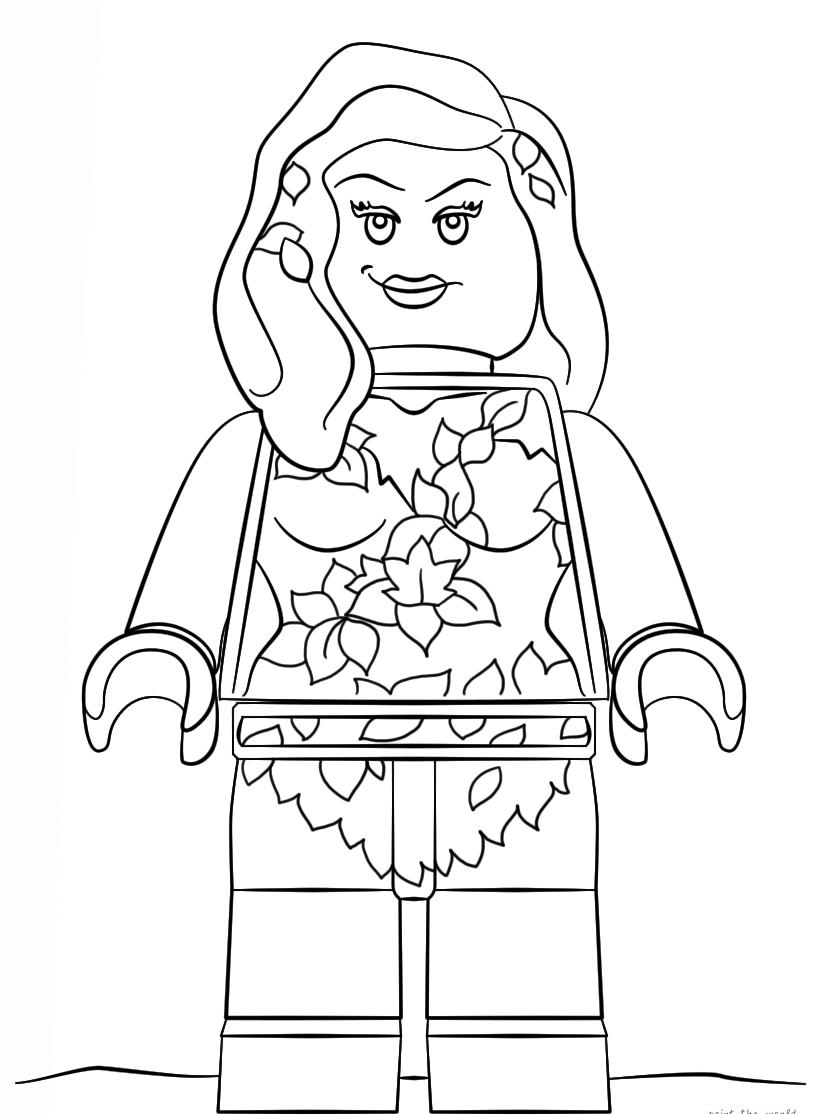 The Lego Batman Movie Coloring Pages (с изображениями