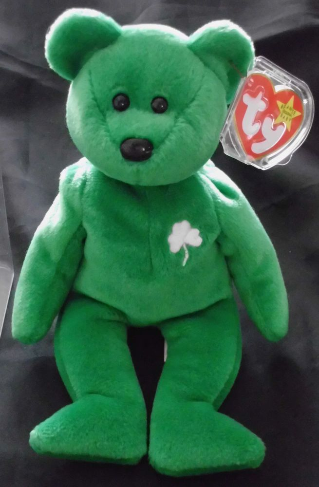 Rare Collectible 1997 Irish Erin St. Patrick s Day TY Beanie Baby - Great  cond.! in Toys   Hobbies  e9bafedecb2