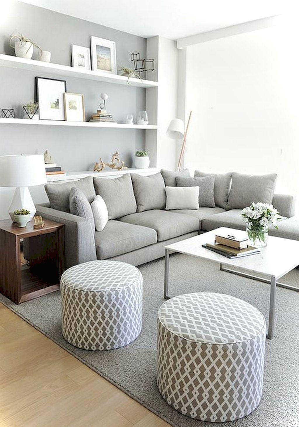 Cool 50 Best Apartment Living Room Decorating Ideas Https://roomaniac.com/