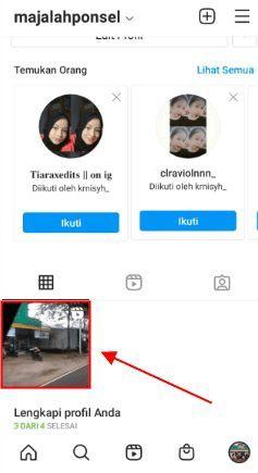 cara mengarsipkan reels di Instagram