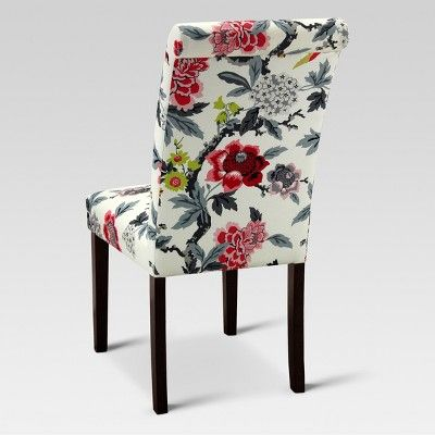 Excellent Avington Print Accent Dining Chair Candid Moment Black Short Links Chair Design For Home Short Linksinfo