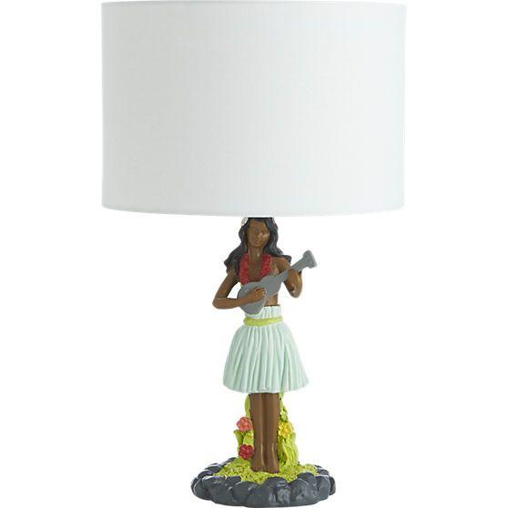 hula table lamp    CB2