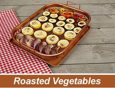 Copper Crisper Cooks Perfectly Crispy Vegetables Recipes Copper