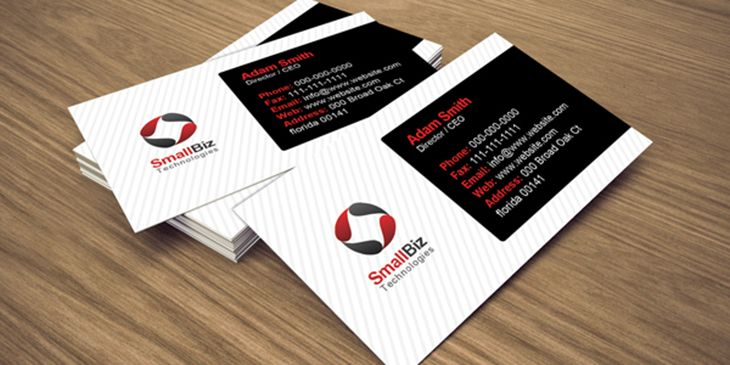 50 Free Business Cards Templates u2013 Vector and PSD Files - free sample business cards templates
