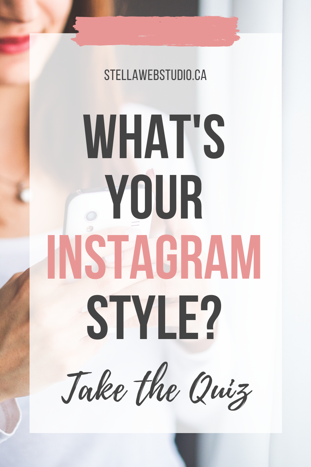 Take The Free Quiz To Find Out What S Your Instagram Style And Get A Personalized Recommendation For Your Brand Instagram Instagramtips