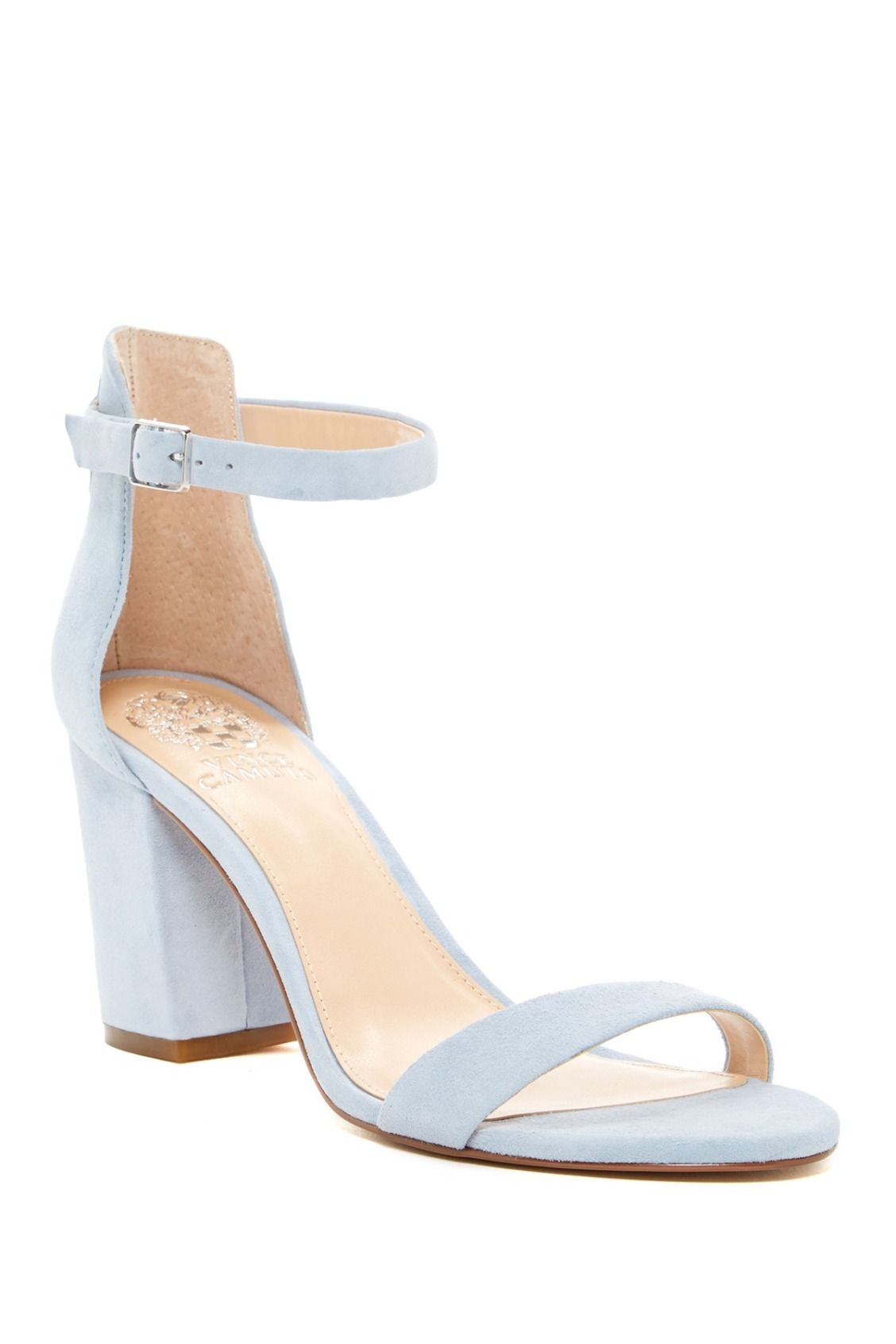 5c609dbc25 Pale blue Vince Camuto Beah Block Heel Sandals | Shoes for Days ...