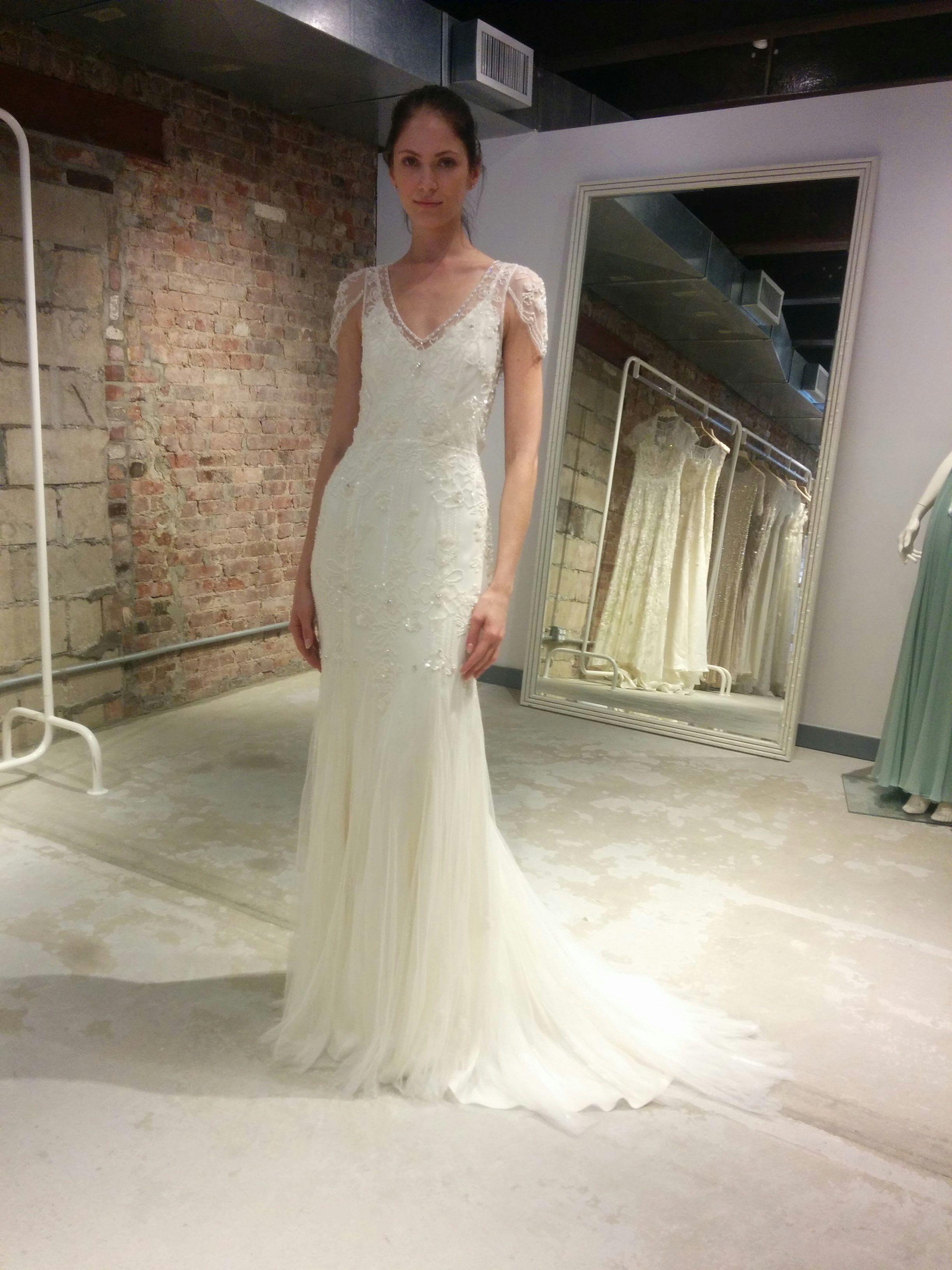 31b5d9d7cce49 2016 Mariana Dress in Ivory by UK designer Jenny Packham | I do ...
