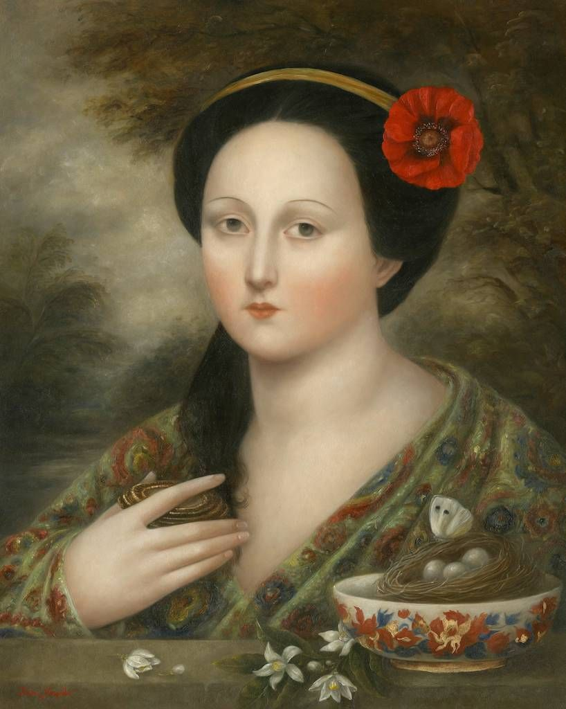 "indigodreams:  windypoplarsroom:  Fátima Ronquillo ""Butterfly"""
