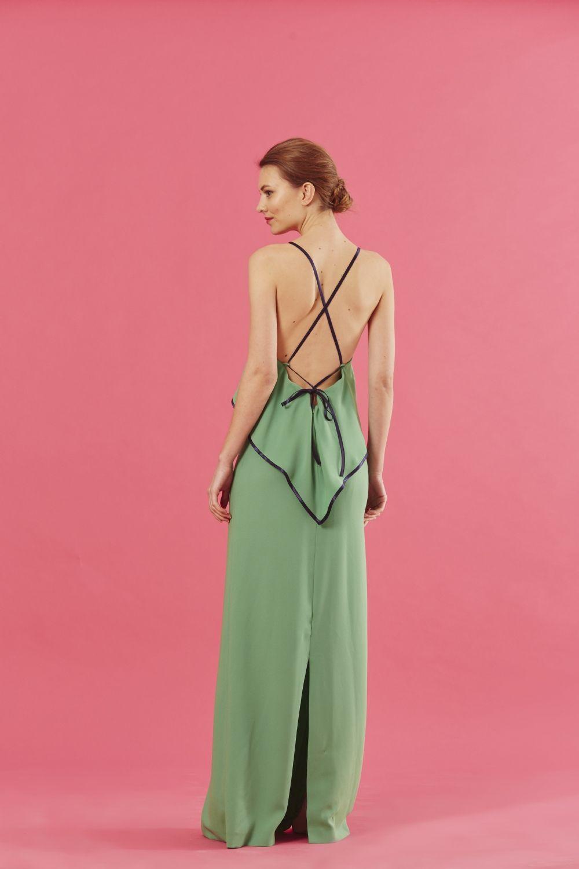 Coosy - VESTIDO CLAIRES VERDE | Vestido boda | Pinterest | Verde ...