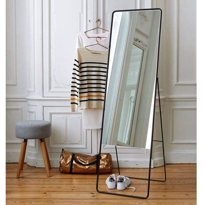 L Elegance Du Noir Miroir Psyche 179 99 Psyche Miroir Deco Pas Cher Deco Chambre
