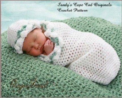 Preemie Cocoon Crochet Pattern Precious Angel por SandysCapeCodOrig ...