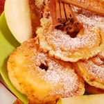Apple Fritters on Clabbergirl.com.