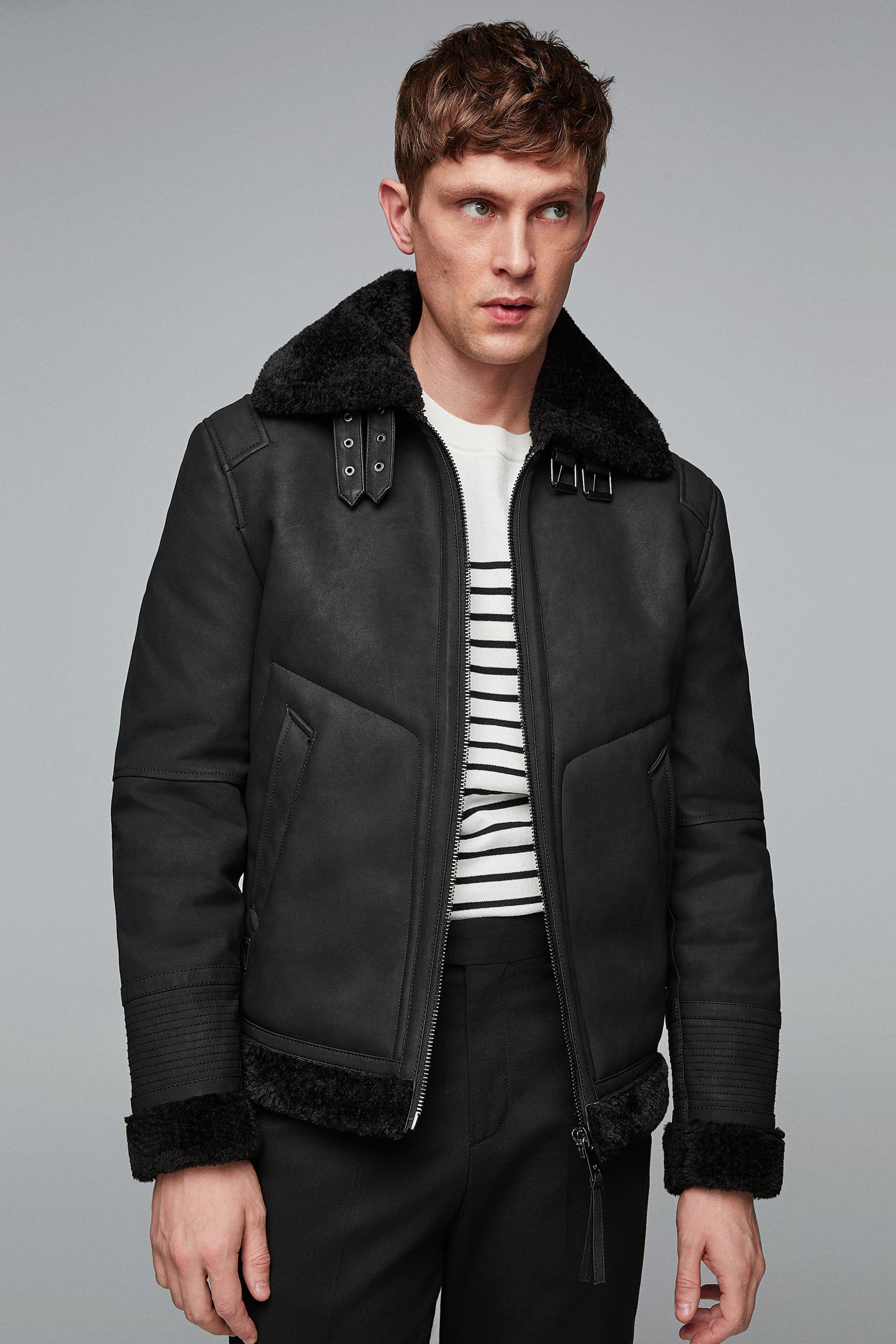 Image 7 of DOUBLE FACED JACKET from Zara Jackets