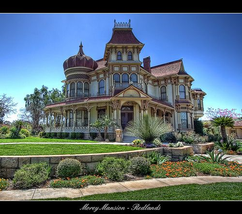 A Complete Tour Of A Victorian Style Mansion: (1890) Victorian Morey Mansion