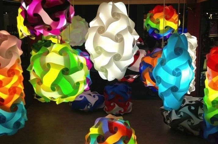 Infinity Lights IQ ZE Puzzle Jigsaw Lamp 10 Pack, Choose