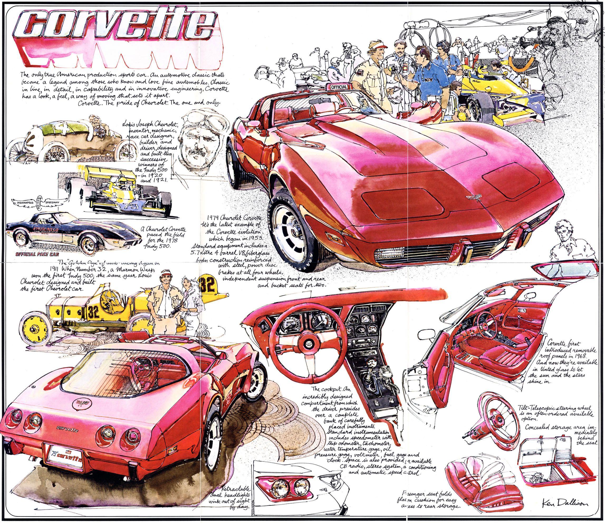 1979 Chevy Corvette Ad In 2020 Chevrolet Corvette Corvette Art Corvette