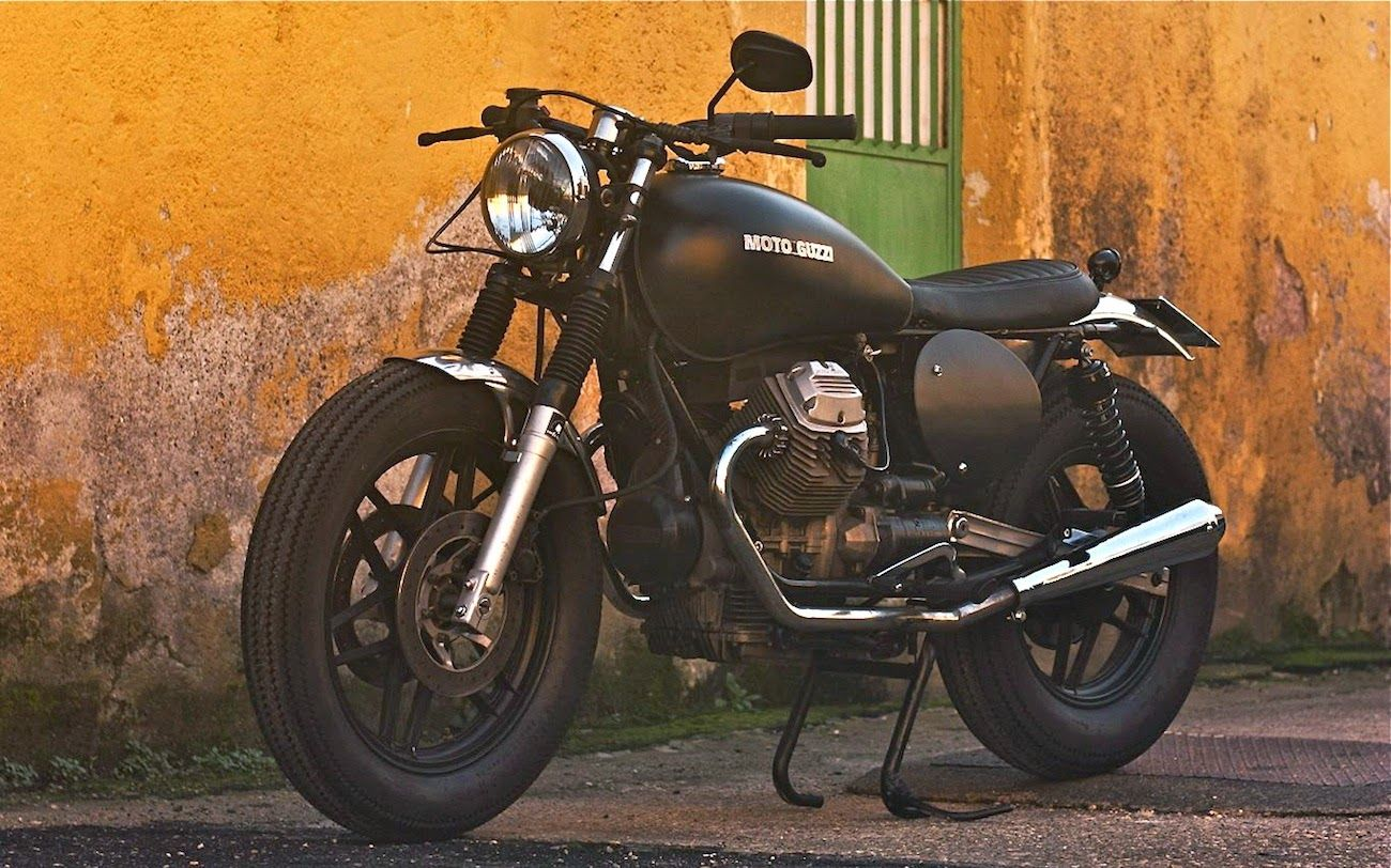 moto guzzi v35 imola cafe twin inazuma cafe racer. Black Bedroom Furniture Sets. Home Design Ideas