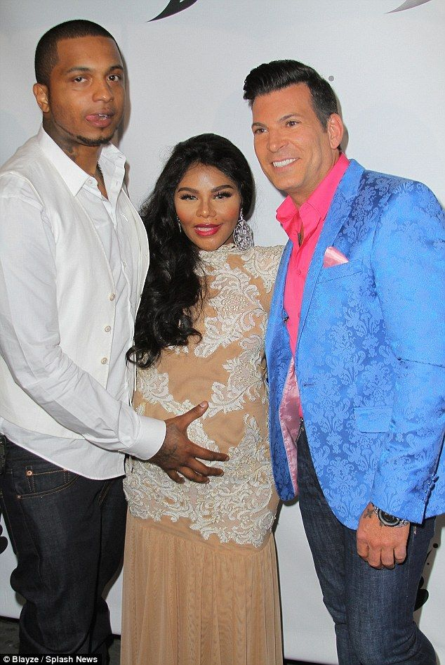 Support system: The couple were joined at the bash by celebrity wedding planner David Tute...