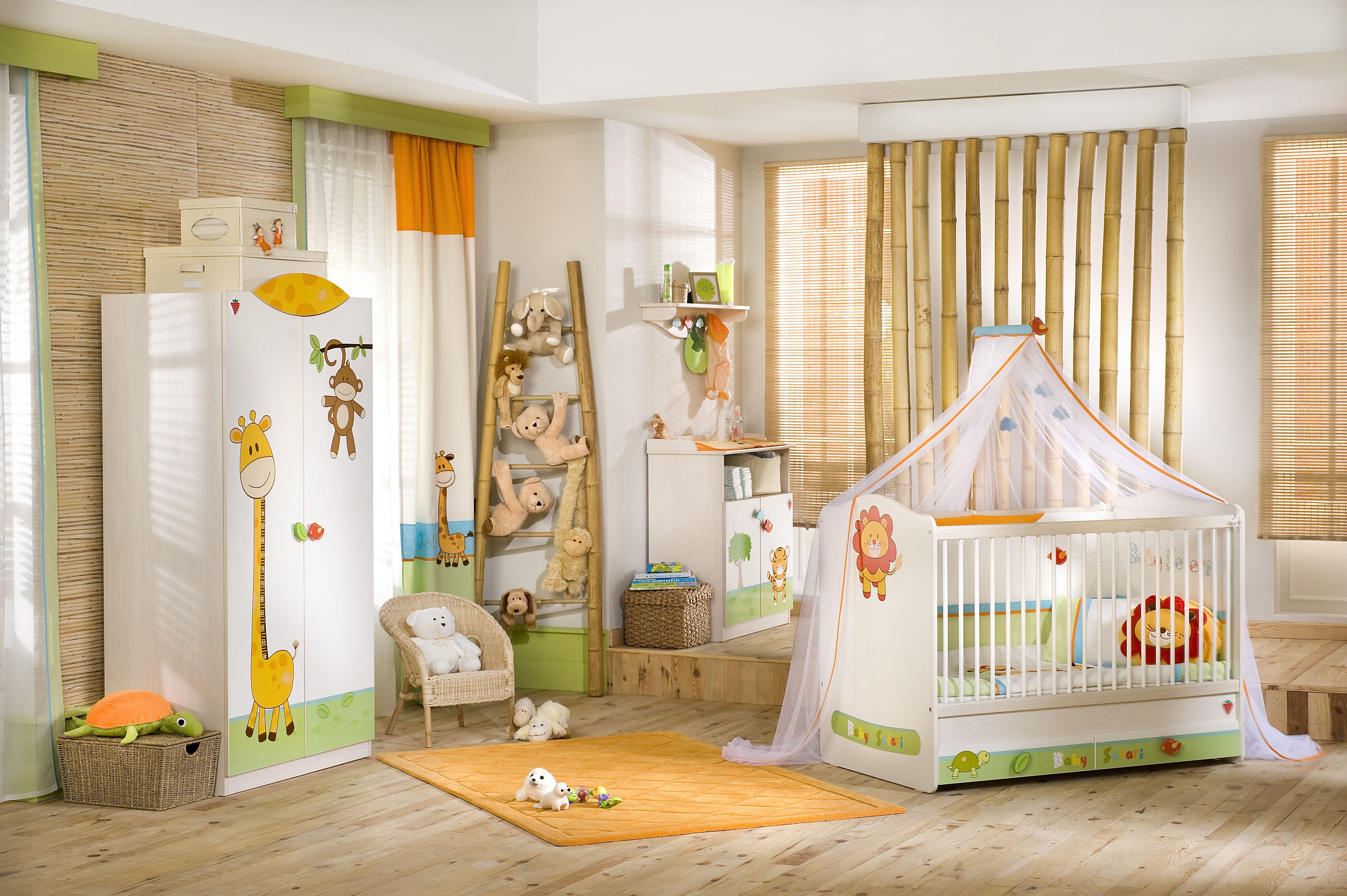 La decoración de animales en el cuarto de tu bebe será una buena ...