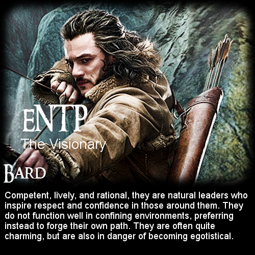 The Hobbit: Battle of the 16 Personalities - Bard [ENTP ...