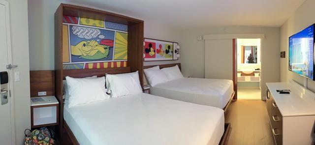 Photos Video New Rooms At Pop Century Disney Tourist Blog Disney Pop Century Pop Century Disneys Pop Century Resort