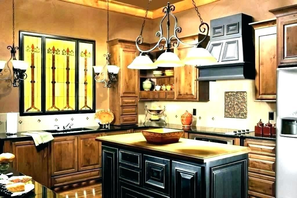 Country Lighting For Kitchen Fixture French