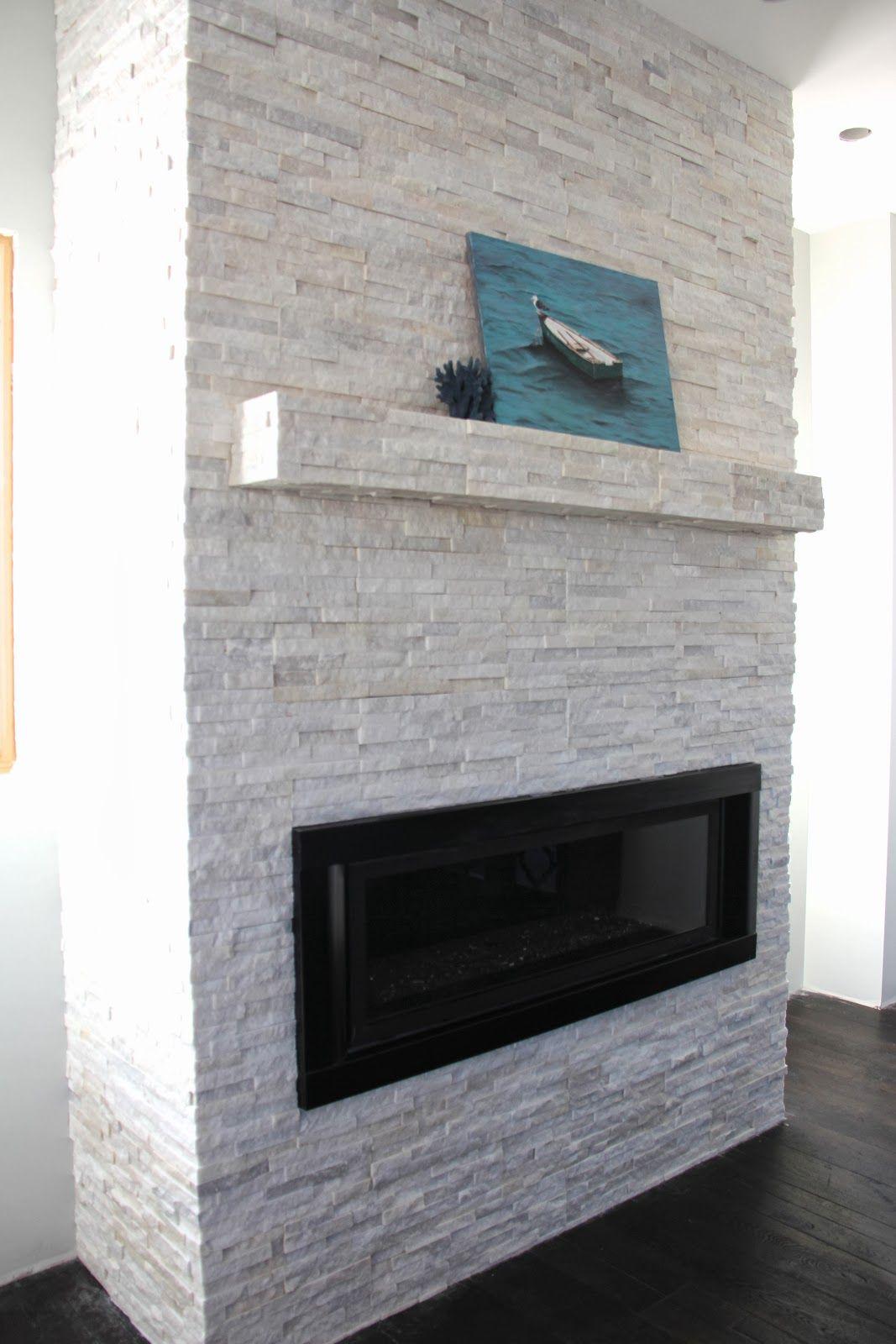 Sheer Serendipity White Quartz Fireplace Stone